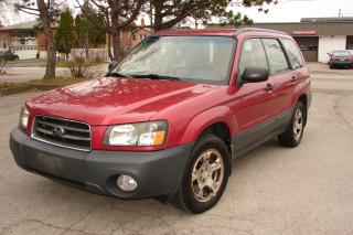 Used 2003 Subaru Forester X for sale in Mississauga, ON