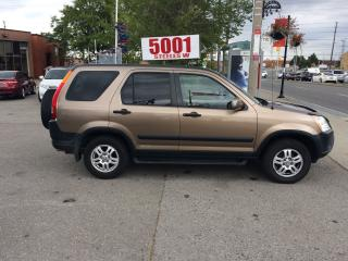 Used 2004 Honda CR-V EX,AWD,AUTO,SAFETY+3YEARS WARRANTY INCLUDED for sale in North York, ON