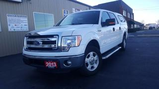 Used 2013 Ford F-150 XLT-CREW CAB-2X2-BACK UP CAMERA for sale in Tilbury, ON