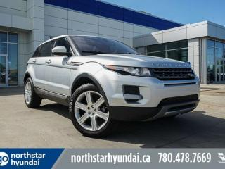 Used 2015 Land Rover Evoque PURE AWD/LEATHER/SUNROOF/NAV for sale in Edmonton, AB