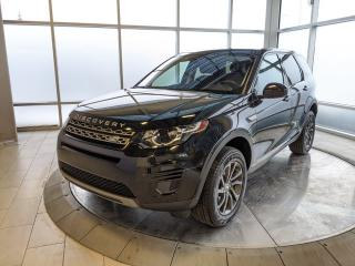 Used 2018 Land Rover Discovery Sport SE - Certified Pre-Owned Warranty until December 14, 2022 or 160,000 Kilometres, with Certified rates from 2.9% for sale in Edmonton, AB
