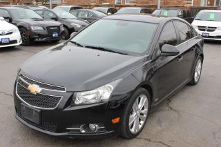Used 2012 Chevrolet Cruze LTZ Sunroof Leather Heated Seats for sale in Brampton, ON