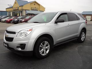 Used 2014 Chevrolet Equinox LS for sale in Brantford, ON