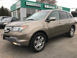Used 2009 Acura MDX SH-AWD l DVD l Low Km for sale in Waterloo, ON