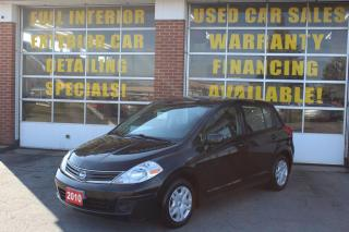 Used 2010 Nissan Versa 1.8 S for sale in Oakville, ON