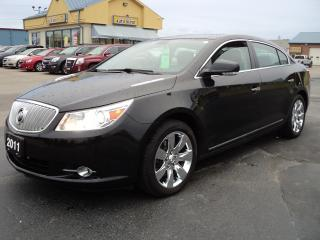 Used 2011 Buick LaCrosse CXS 3.6L Leather & Roof for sale in Brantford, ON