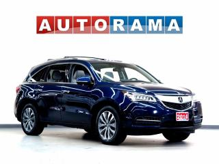 Used 2014 Acura MDX NAVIGATION LEATHER SUNROOF 7 PASSENGER 4WD BACKUP for sale in North York, ON