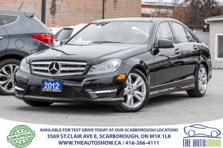 Used 2012 Mercedes-Benz C 300 C 300 4MATIC NAVI PanoRoof AWD for sale in Caledon, ON