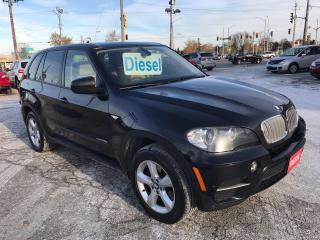 Used 2011 BMW X5 35d/DIESEL/AWD/NO ACCIDENT/SAFETY/WARRANTY for sale in Cambridge, ON