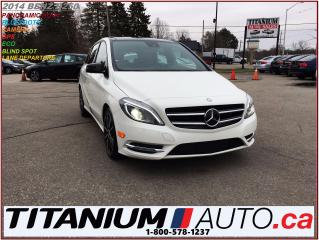 Used 2014 Mercedes-Benz B-Class Sport+GPS+Camera+Pano Roof+Blind Spot & Lane Monit for sale in London, ON