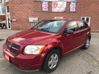 Used 2010 Dodge Caliber NO ACCIDENT - SAFETY & WARRANTY INCLUDED for sale in Cambridge, ON