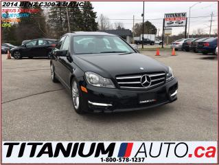 Used 2014 Mercedes-Benz C-Class C300+4 Matic+GPS+Camera+XM Radio+BlueTooth+Sunroof for sale in London, ON