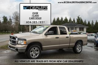 Used 2004 Dodge Ram 1500 HEMI SLT 4x4 Crew, No Accid., Navigation, Air Bags for sale in Surrey, BC