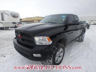 Used 2012 RAM 1500 LARAMIE QUAD CAB SWB 5.7L for sale in Calgary, AB