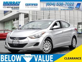 Used 2012 Hyundai Elantra GL**Heated Seats** for sale in Surrey, BC