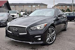 Used 2014 Infiniti Q50 Sport, Navi, Cam, AWD for sale in Aurora, ON