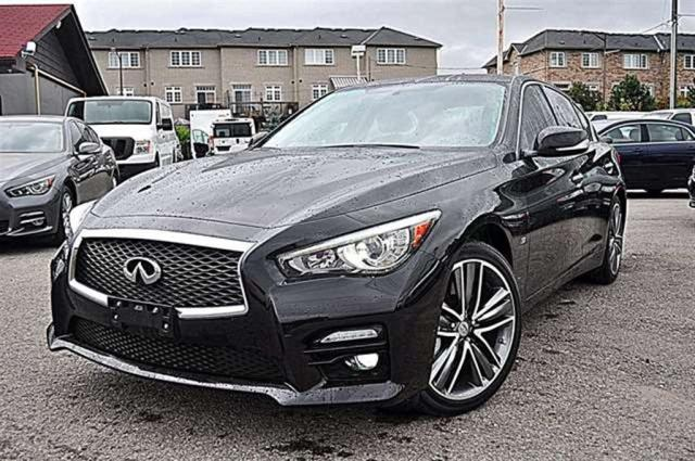 used 2014 infiniti q50 sport navi cam awd for sale in aurora ontario. Black Bedroom Furniture Sets. Home Design Ideas
