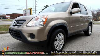 Used 2006 Honda CR-V EX-L|NO ACCIDENT|LEATHER SEATS|SUNROOF|AWD|ALLOY for sale in Oakville, ON