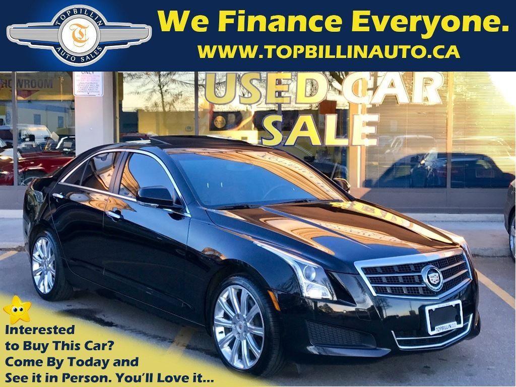 2013 Cadillac ATS 2.0L T Luxury, Navi, Backup Cam, Sunroof
