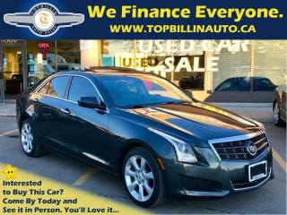 Used 2014 Cadillac ATS 2.0L Turbo SUNROOF, BACKUP CAMERA for sale in Concord, ON
