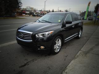 Used 2013 Infiniti JX35 LEATHER, SUNROOF, TD/DV HEAD REST. for sale in Scarborough, ON