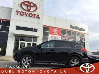 Used 2015 Toyota RAV4 XLE LOW KM'S for sale in Burlington, ON