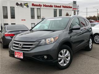 Used 2013 Honda CR-V Touring | Navigation | Leather | R. Camera| for sale in Mississauga, ON
