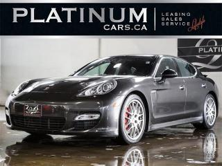 Used 2010 Porsche Panamera TURBO 500HP AWD, SPORT CHRONO, NAVI, CAM for sale in North York, ON