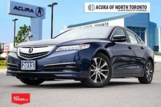 Used 2015 Acura TLX 2.4L P-AWS w/Tech Pkg GPS|Bluetooth|Back UP CAM| S for sale in Thornhill, ON
