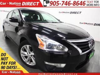 Used 2013 Nissan Altima SL| LEATHER| SUNROOF| NAVI| BACK UP CAMERA| for sale in Burlington, ON