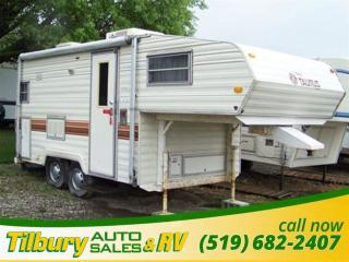 Used 1985 Fleetwood Terry 18 FIFTH-WHEEL **AS IS** for sale in Tilbury, ON