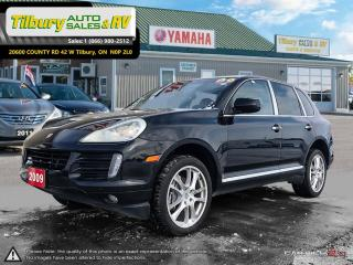 Used 2009 Porsche Cayenne LUXURY. LEATHER. LOADED. for sale in Tilbury, ON