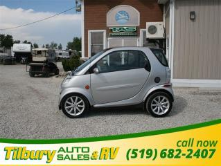 Used 2005 Smart fortwo MOON ROOF, LOW KM'S, SHIFT. for sale in Tilbury, ON