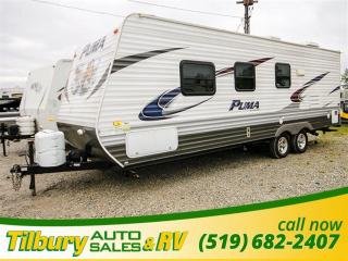 Used 2013 Forest River PALOMINO PUMA 23 FB TRAVEL-TRAILER for sale in Tilbury, ON