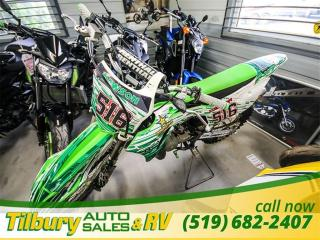 Used 2014 Kawasaki KX100D9FA Monster Energy Edition - for sale in Tilbury, ON