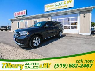 Used 2013 Dodge Durango SXT **WEEKLY PAYMENTS AS LOW AS $110** for sale in Tilbury, ON