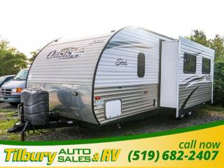 Used 2013 Forest River SHASTA OASIS 26DB TRAVEL-TRAILER for sale in Tilbury, ON