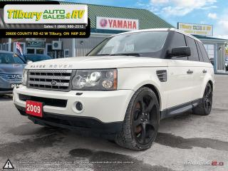 Used 2009 Land Rover Range Rover Sport Sport Supercharged. V8. NAV. HEATED SEATS. LUXURY. for sale in Tilbury, ON