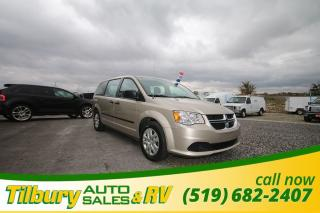 Used 2016 Dodge Grand Caravan SE/SXT. GREAT FAMILY VEHICLE. LOW KMS. for sale in Tilbury, ON