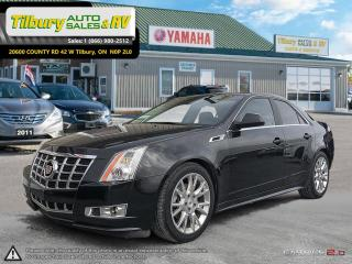 Used 2013 Cadillac CTS Performance Collection. LOW KMS. BOSE SOUND. for sale in Tilbury, ON