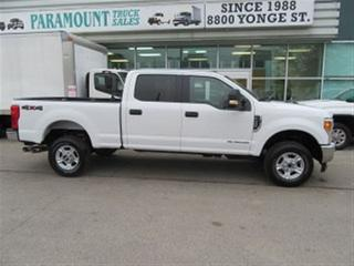 Used 2017 Ford F-350 Crew Cab 4x4 diesel short box XLT loaded for sale in Richmond Hill, ON
