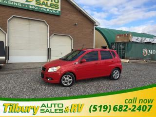 Used 2009 Chevrolet Aveo Aveo 5 LT. SUNROOF. 5 PASS SEATING. for sale in Tilbury, ON