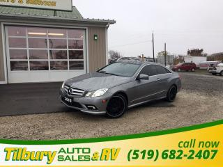 Used 2010 Mercedes-Benz E-Class E350. DOUBLE SUN ROOF. LEATHER. for sale in Tilbury, ON