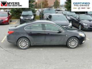 Used 2011 Buick Regal LUXURY SEDAN, HEATED LEATHER, POWER SEAT for sale in Ottawa, ON