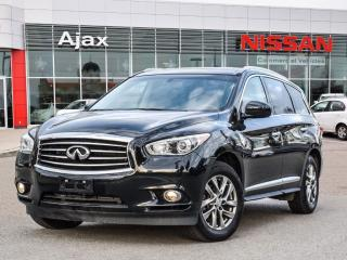 Used 2014 Infiniti QX60 FWD 7 Passenger Seating*Leather*Bluetooth for sale in Ajax, ON