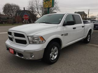 Used 2017 Dodge Ram 1500 Outdoorsman CREW  6.5 BOX, 4X4 for sale in Belmont, ON
