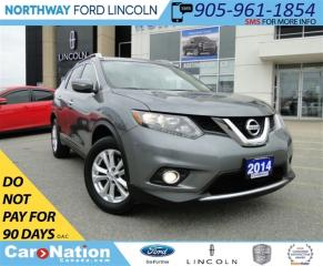 Used 2014 Nissan Rogue SV | AWD |  REAR CAMERA | PANO ROOF | for sale in Brantford, ON