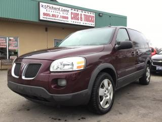Used 2008 Pontiac Montana Sv6 FWD AS IS. ON STAR! HEATED MIRRORS! for sale in Bolton, ON