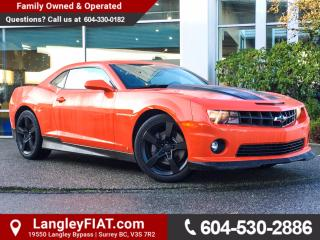 Used 2010 Chevrolet Camaro SS NO ACCIDENTS! for sale in Surrey, BC