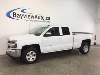 Used 2017 Chevrolet Silverado 1500 LT- 5.3L|DBL CAB|TOW/HAUL|REV CAM|ON STAR|CRUISE! for sale in Belleville, ON